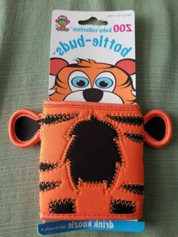 KidKusion Bottle-Bud Koozie, Tiger Zoo Baby Collection
