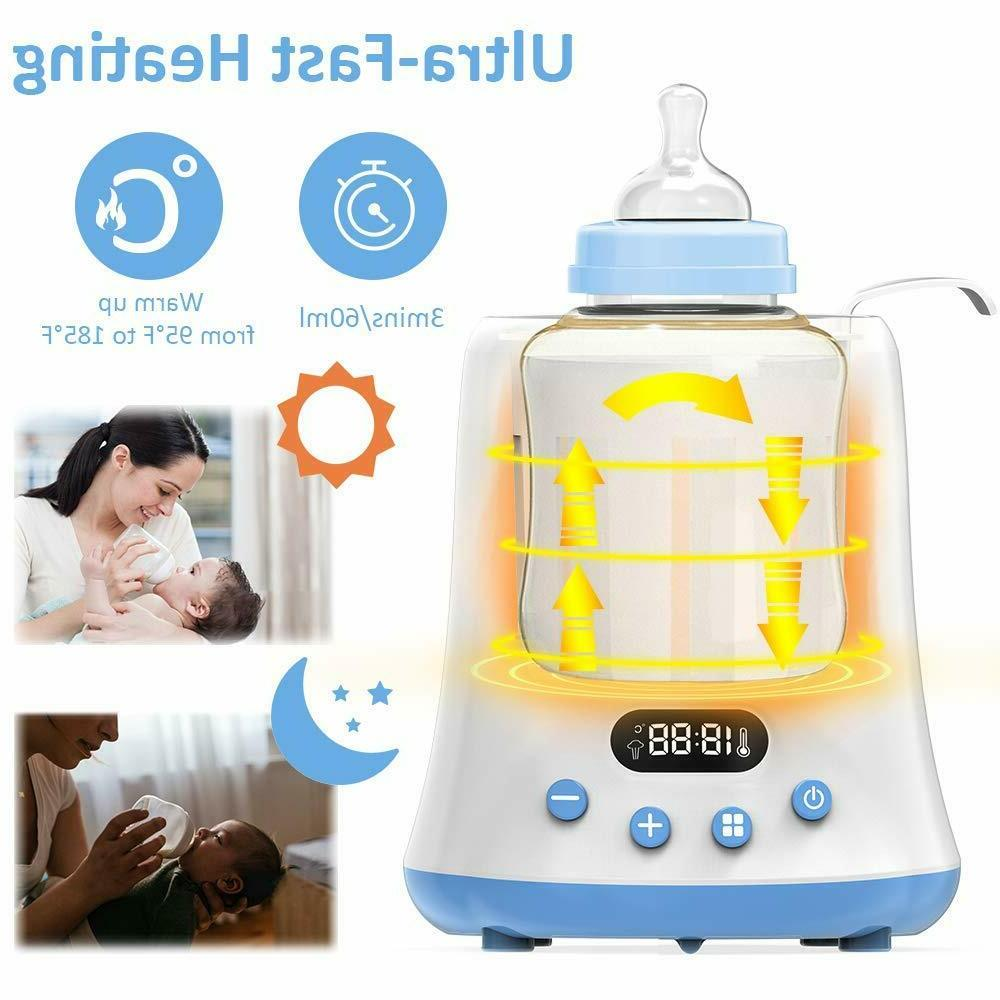 Baby Bottle Fast Breast Milk Warmer with a Timer, Food Heat