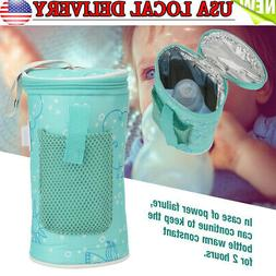 USB Baby Bottle Warmer Heater Insulated Bag Thermostat Drink